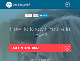 am i in love quiz